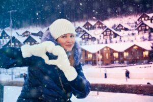Winter holiday in Austria