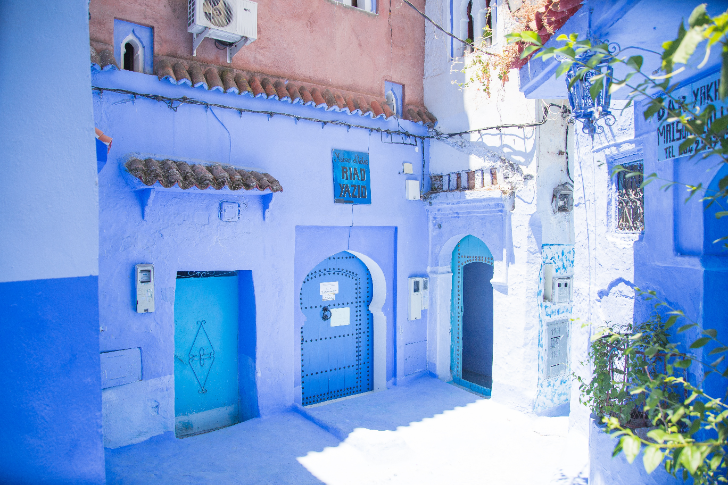 Chefchaouen, the blue village in Morocco
